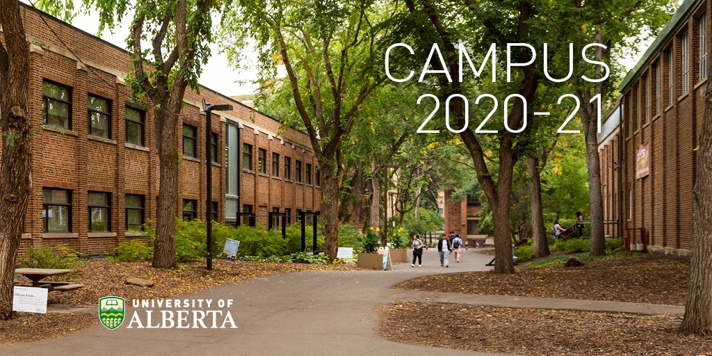 For Fall 2020/21 students, here is a list of courses which will include in-person learning. Information about time and location of specific sections is available on Bear Tracks. https://t.co/0qCOujH9Kl #UAlberta https://t.co/1WkWFysyG8