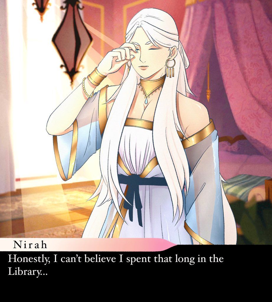 Ok I've never made anything like this before but it turned out actually good?? I really liked the way I drew Nirah on the short vid I posted so I wanted to make a game version   —- Please don't edit or repost without permission, thanks!  #thearcana #thearcanagame #thearcanamc pic.twitter.com/6ill5kmDGN