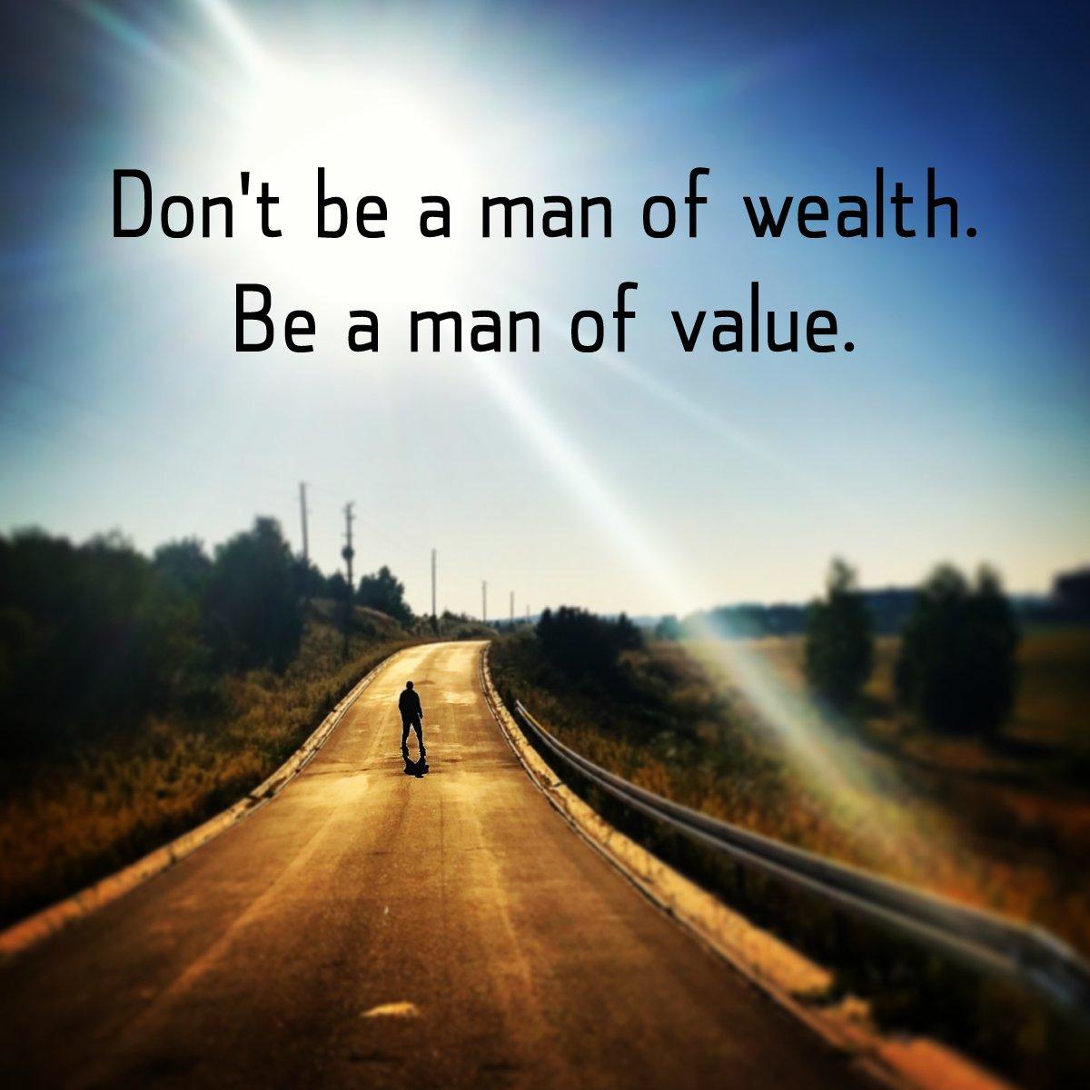 Be a man of value! #Men #Style https://t.co/Ev7IUkrcsH