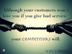 You know one person who will be happy that you create a bad customer service? Your competitor.  #MondayMotivation #mondaythoughts #CustomerService #Holler #MondayVibes  @fccpcnigeria @saveconsumers @m_customerfirst @beucpic.twitter.com/0rZ2wh7at5