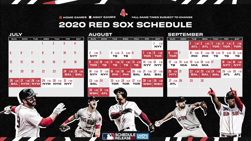 Calendario de @RedSoxBeisbol https://t.co/XSatKfJ8Bw