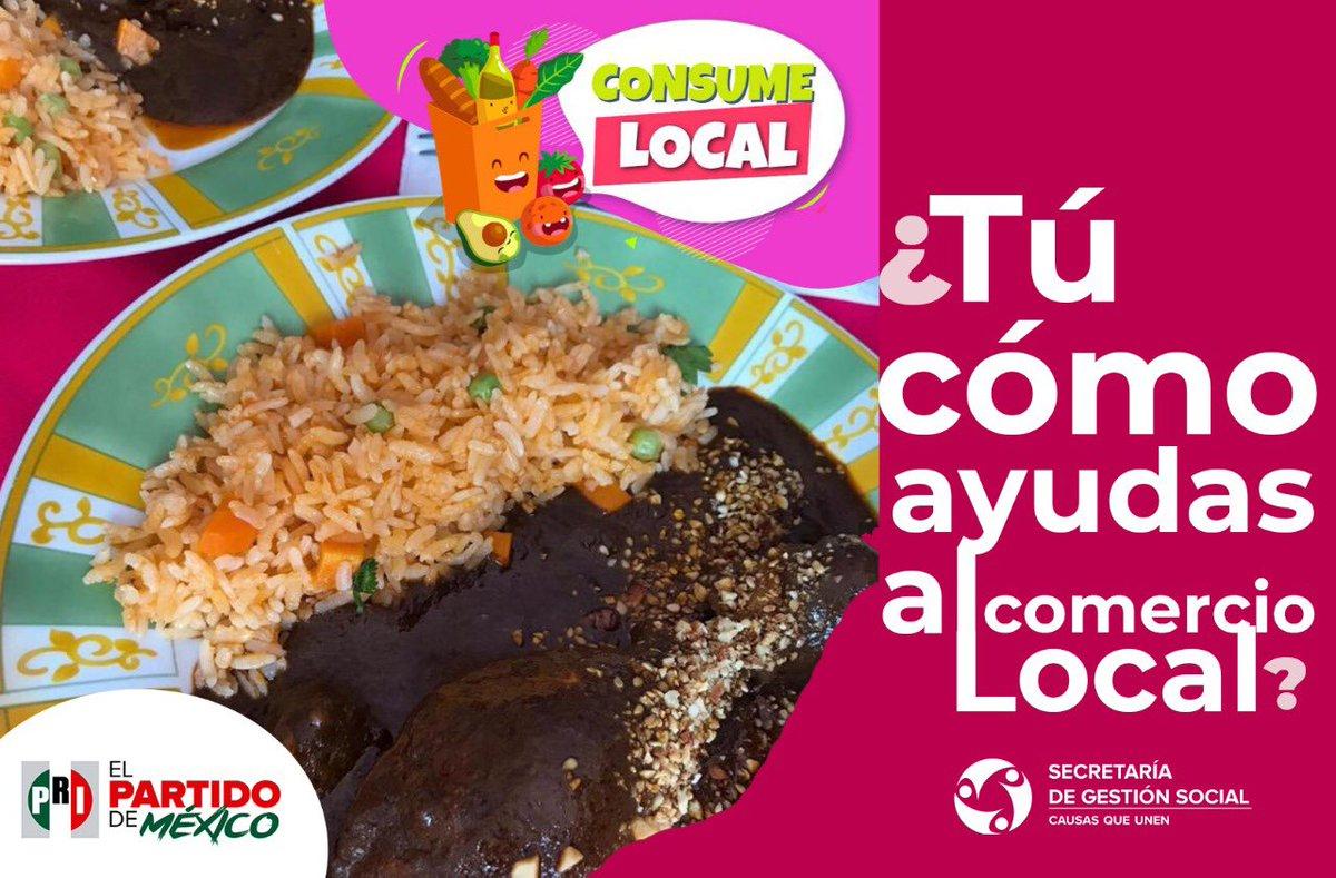 Una manera de apoyar el #ConsumoLocal es pidiendo comida en nuestros mercados públicos. Consulta quienes te pueden dar ese servicio 🍵🌮🥗🍲  👉🏼https://t.co/B6aWlhSy1z https://t.co/BSjk3Irk9T