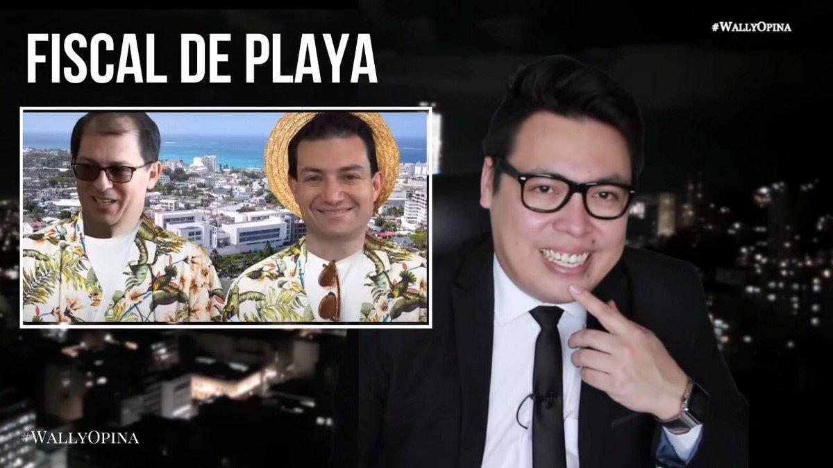 Un Fiscal en San Andrés y un Narcoestado.   En el nuevo video de #WallyOpina te van a dar ganas de romper la cuarentena.   https://t.co/wLMPUSErKl https://t.co/55dKkImULo
