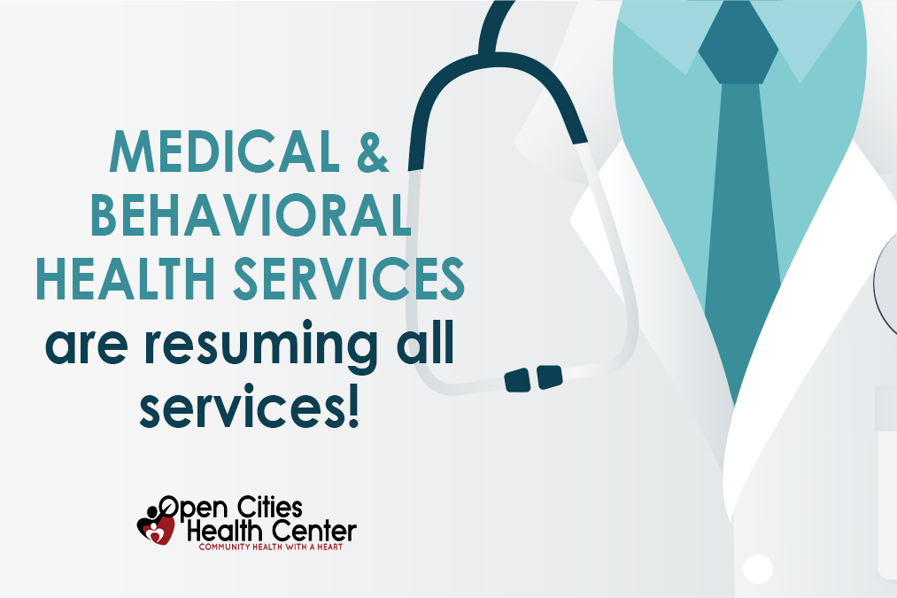 Our Medical department and Behavioral Health department are resuming all services effective today, July 6th, 2020! Call 651-290-9200 to schedule an appointment today. #HealthyBody #HealthyMind #InItTogetherpic.twitter.com/3sWurXr14j