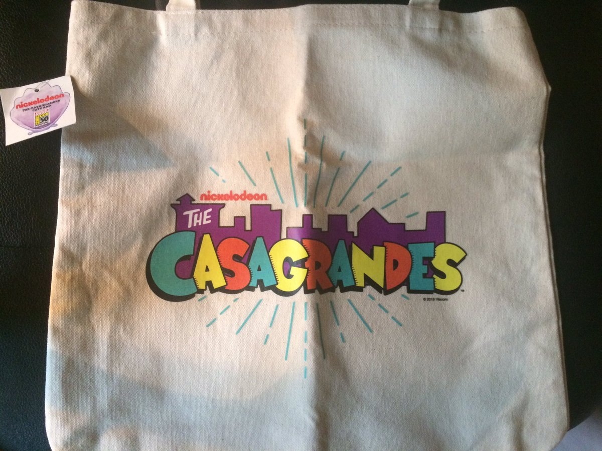 My 2nd Casagrandes San Diego Comic-Con 2019 promotional totes bag has arrived!   For those of you asking me again, I ordered this from eBay. #TheCasagrandes #TheLoudHouse #Nickelodeon #SanDiegoComicCon2019 #SanDiegoComicCon #SDCC2019 #SDCC #TotesBag #eBay<br>http://pic.twitter.com/r7LdnVfLTd