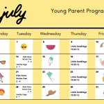 Image for the Tweet beginning: Our Young Parent Program has