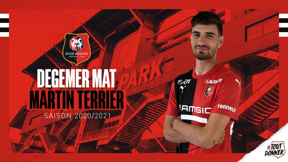 OFFICIEL : Martin Terrier atterrit à Rennes