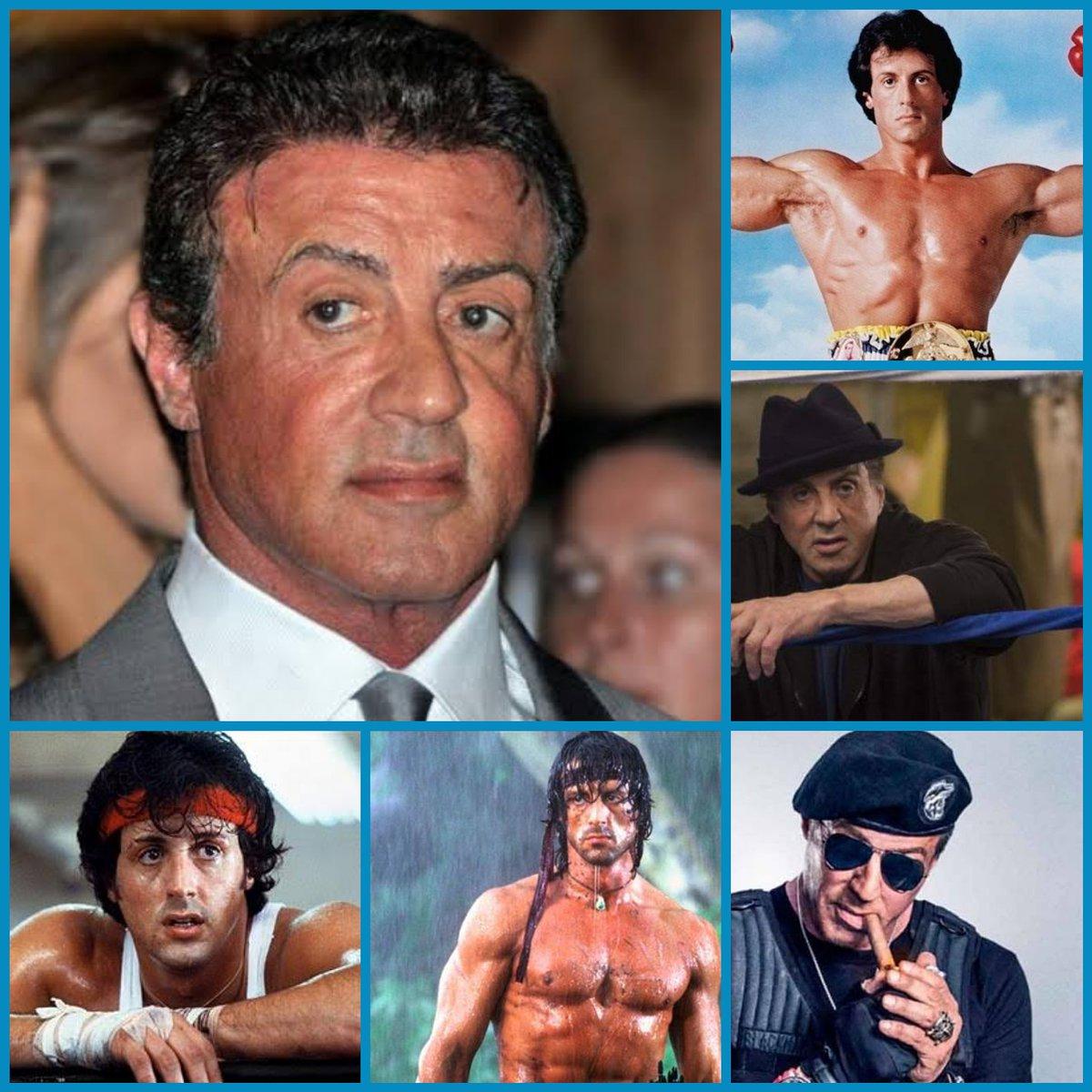 ¡FELIZ CUMPLEAÑOS!  Festejemos a Sylvester Stallone por sus 74 años. Este gran actor, reconocido por muchas películas de acción. ¿Donde lo recuerdas?  #sylvesterstallone #rambo #rockybalboa #rocky #stallone #slystallone #theexpendables #s #jasonstatham #creed #legend #slypic.twitter.com/bMUQNPjBqN