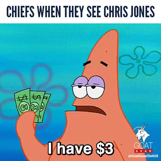 😂  #ChrisJones #Chiefs #PatrickMahomes #10Years #NFL #Patriots #Panthers #Packers #Bears #Browns #Bengals #Bills #Broncos #Ravens #Rams #Raiders #Titans #Vikings #Falcons #Dolphins #Chiefs #Cowboys #Giants #Jaguars #Eagles #Jets #49ers #Seahawks #Steelers #Saints https://t.co/Qhmr8XlW3h