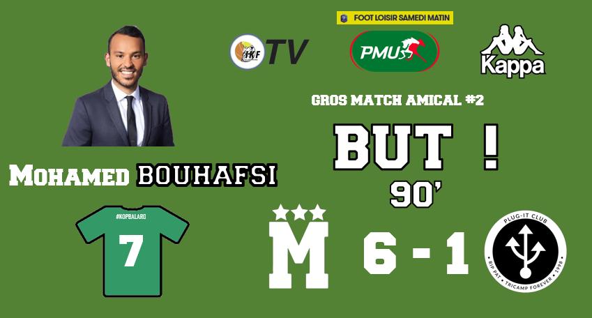 90 Un festival de but conclu par @mohamedbouhafsi qui marque également pour son retour sur les terrains ! 6-1 ! #MFCPI