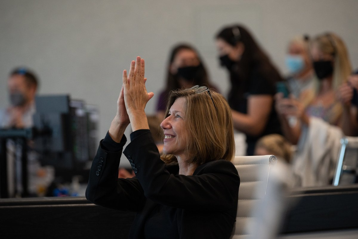 We're glad to see you on Twitter, @KathyLueders!  As the home of Mission Control and training for @NASA_Astronauts, we are excited to have you leading our team as we look forward to our next giant leaps. https://t.co/GbDCe9L9vV