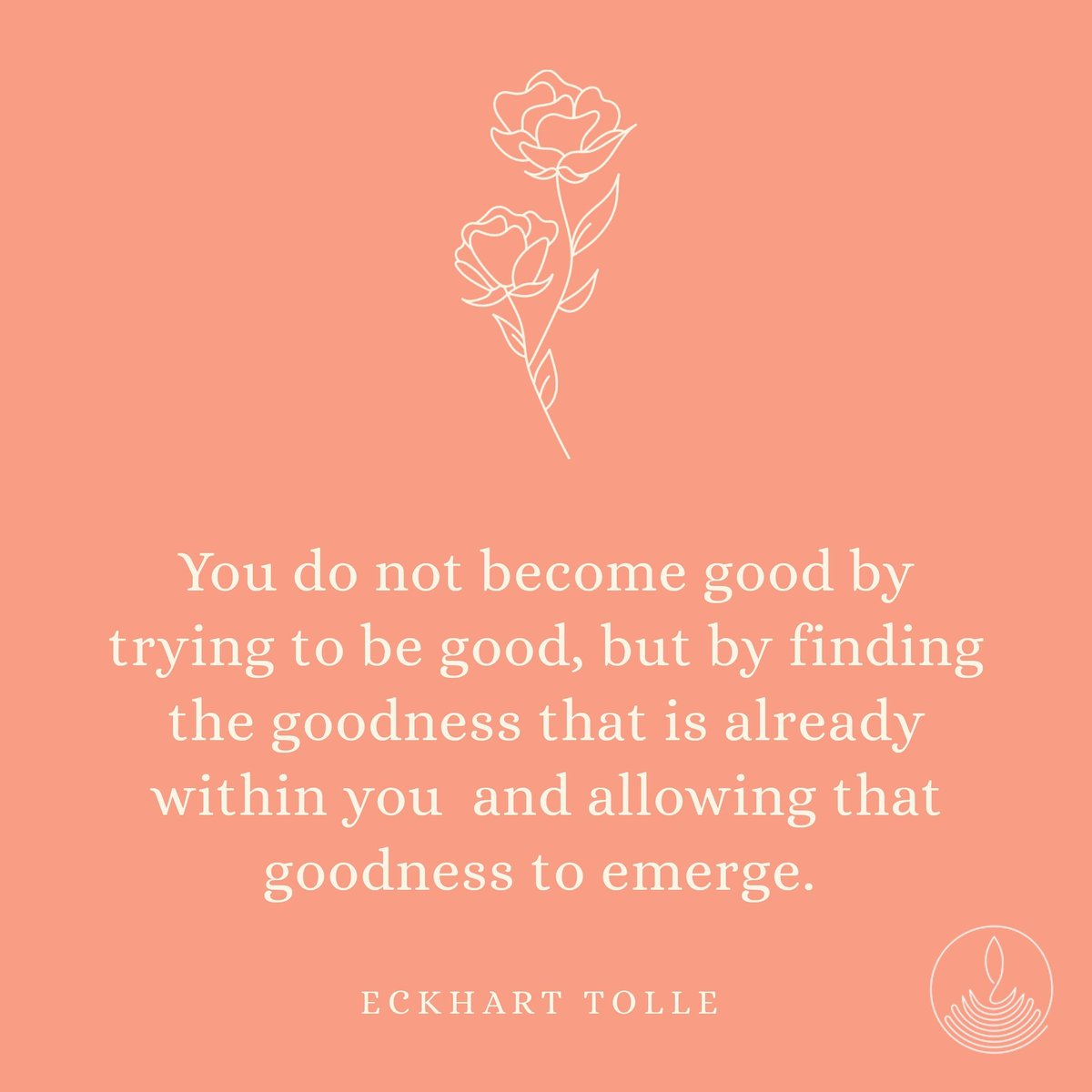 #selflove #goodness #beinggood  #goodvibes #gooddeeds #eckharttolle #eckharttollequotes #authentic #authenticself #personalgrowth #peace #love #compassion https://t.co/pX0N3C2crX