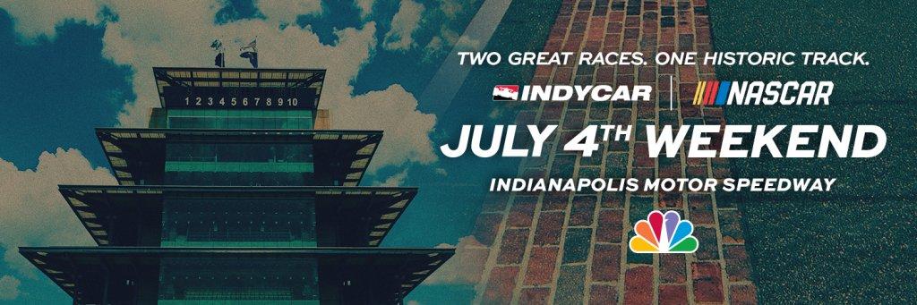 Viewership of Sunday's @NASCAR Brickyard 400 at @IMS on NBC was up 46% vs. last year's race, averaging 4.370 million viewers.  More info: https://t.co/ytGOgocrqd https://t.co/utcR0etnqd