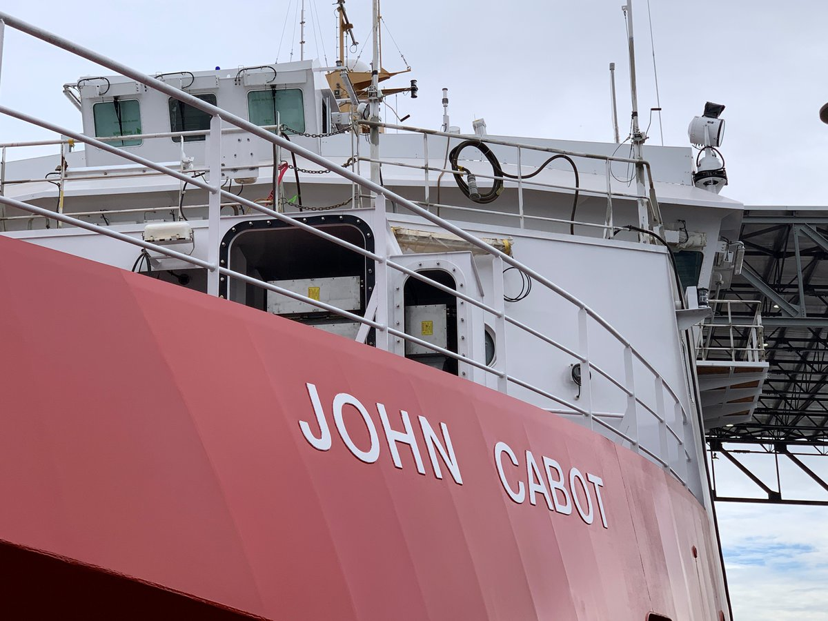 Canadian Coast Guard On Twitter Today We Celebrate The Launch Of The Future Ccgs John Cabot The 3rd New Offshore Fisheries Science Vessel Built By Morethanships This Ship Will Support Scientific