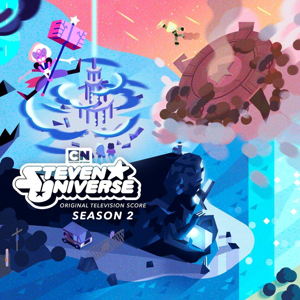 MORE #StevenUniverse music just dropped! 💎💖🎵 Download Season 2 Score or stream today 👉