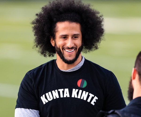 ESPN has been going downhill lately, with record low ratings, and Leftist WOKE Sports and programming! So naturally today they signed THIS GUY to a partnership deal, so even MORE Kaepernick on ESPN! This won't end well! 😂😂 #BoycottEspn https://t.co/dSCsvllMV5 https://t.co/lNAvhS9QlZ