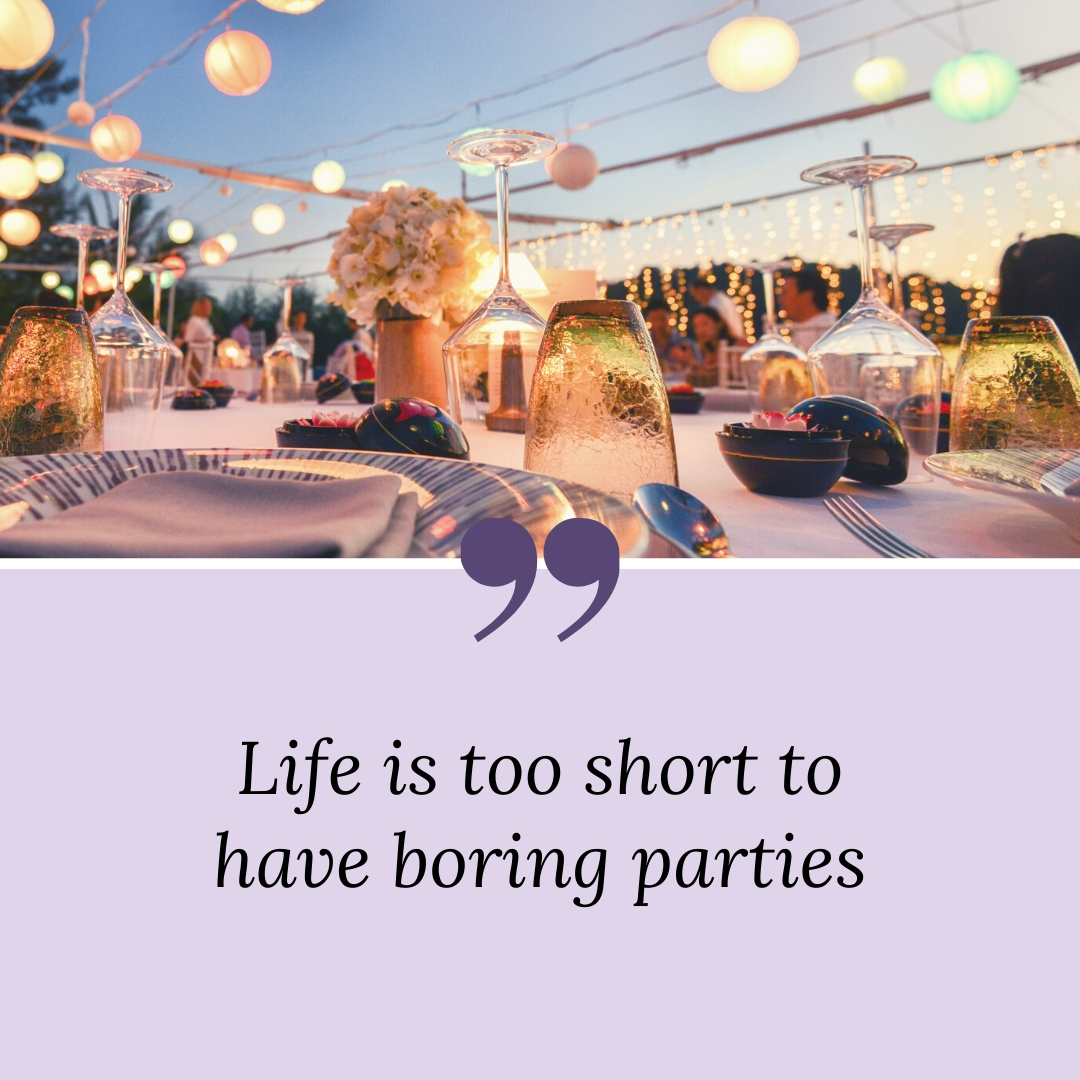 Life is too short to have boring parties. Let Wedding and Party help guide you in planning the event of your dreams. Find vendors, inspiration, and more at https://www.weddingandpartynetwork.com/  #weddingandparty #weddingplanning #partyplanningpic.twitter.com/QBXQtXcWGq
