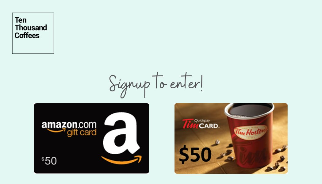 We are giving away two $50 Amazon and Tim Hortons gift cards! To enter, join our exclusive networking platform for alumni and students, @10kcoffees between July 6th and July 17th. Winner announced July 20th! Enter at http://tenthousandcoffees.com/schools/brocku/ #RBCFutureLaunch #FutureofWork #Contestpic.twitter.com/mU6HGxjcIr
