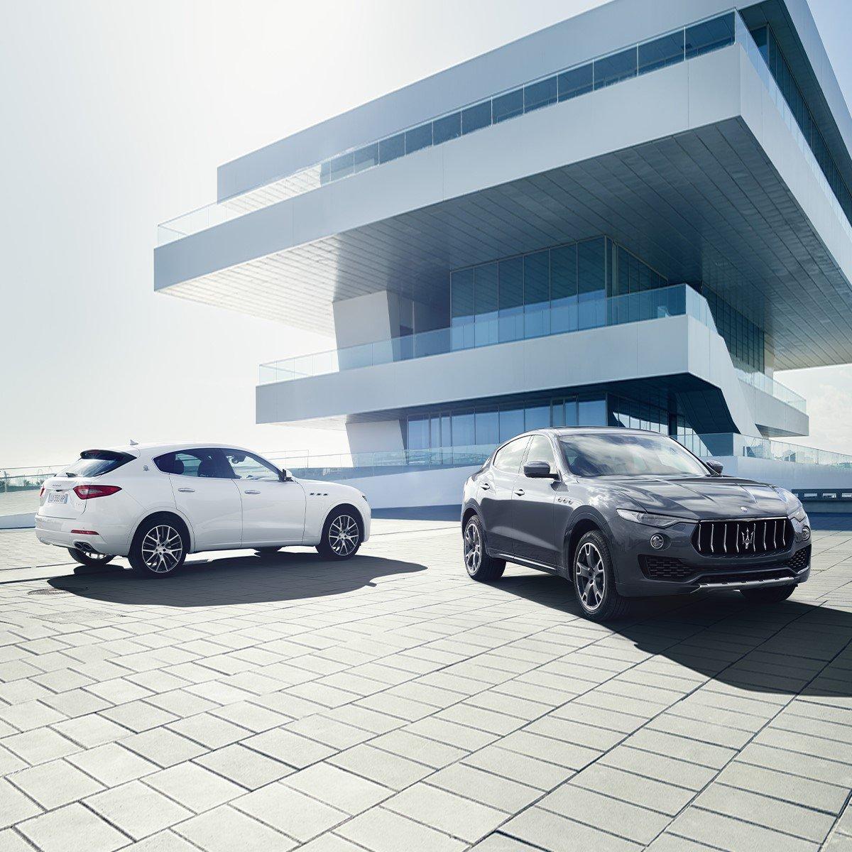 An impressive duo for all the new possibilities ahead. 👉 https://t.co/oDHIkaovsf 📱 (415)526-7300 #Maserati #MaseratiLevante https://t.co/TSKyPAVxzh