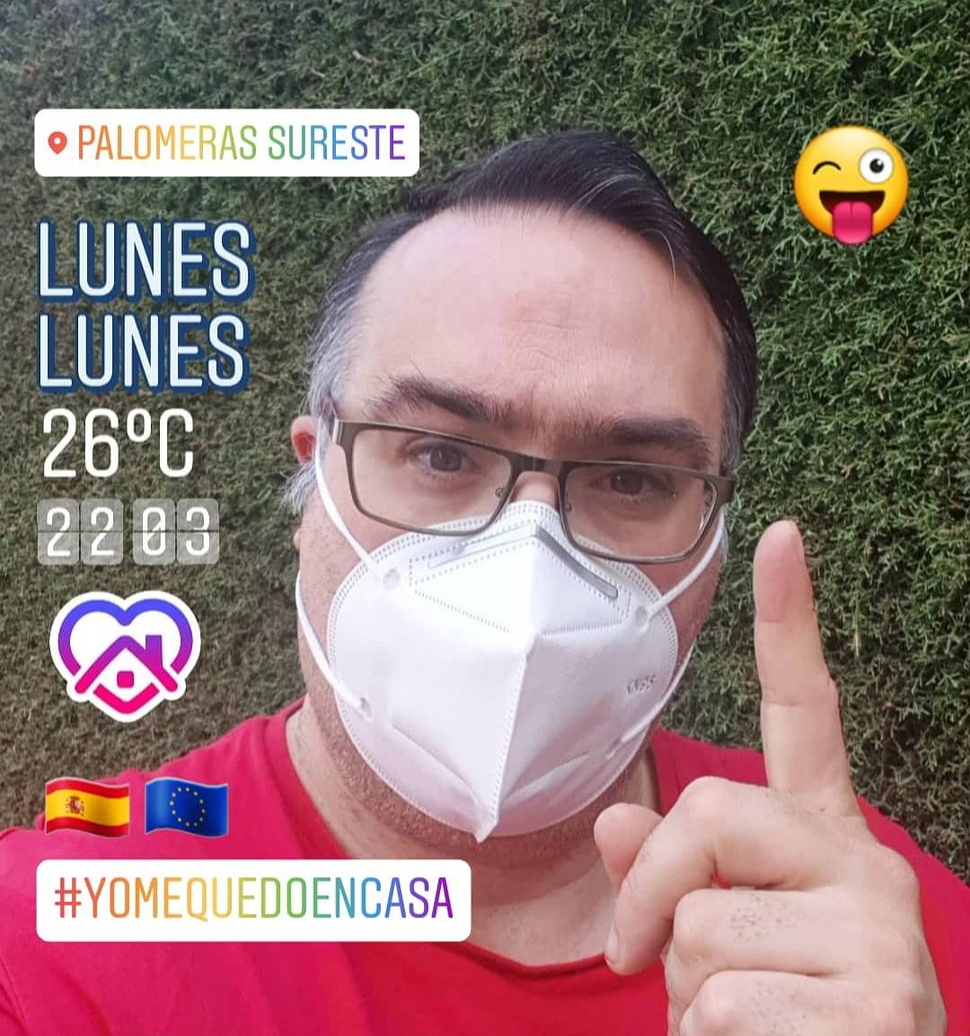 Day 114..Day 16 Nueva Normalidad.. #NuevaNormalidad #CuarentenaEnCasa #JuntosLoConseguiremos #YoMeQuedoEnCasa!!! 📱☀️🤗📅👀😷🚶♂️🏃♂️💪🙆♂️👏 https://t.co/l1JPjrf3I0