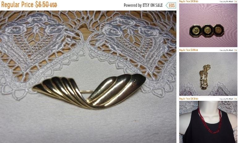 SALE Vintage Gold tone brooch, estate jewelry, https://etsy.me/2ZFPWBf # #estatejewelry #brooch #vintagebrooch #estatebrooch #giftforher pic.twitter.com/XvUJTWnpAE