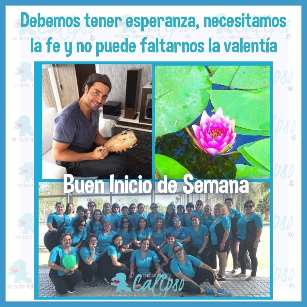 @Alvaro_Escobar_ Que tengas una linda semana, mucha energía. Saludos @CHICASDECALIPSO #YoMeQuedoEnCasa https://t.co/wjuxRNrfXD