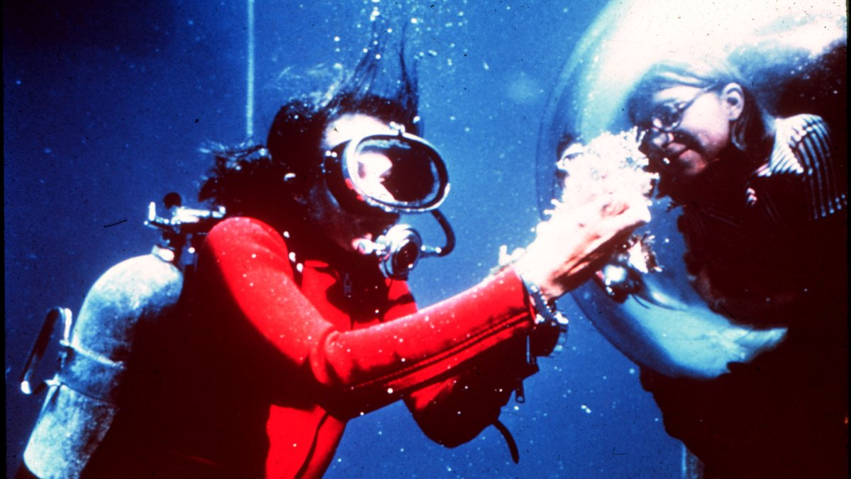 Sylvia Earle is an American marine biologist, explorer, author, and lecturer. She became the first woman to walk on the ocean floor , 1,500 feet beneath the surface! Sylvia was also the first female chief scientist  of the NOAA.<br>http://pic.twitter.com/XaNurfzxtv