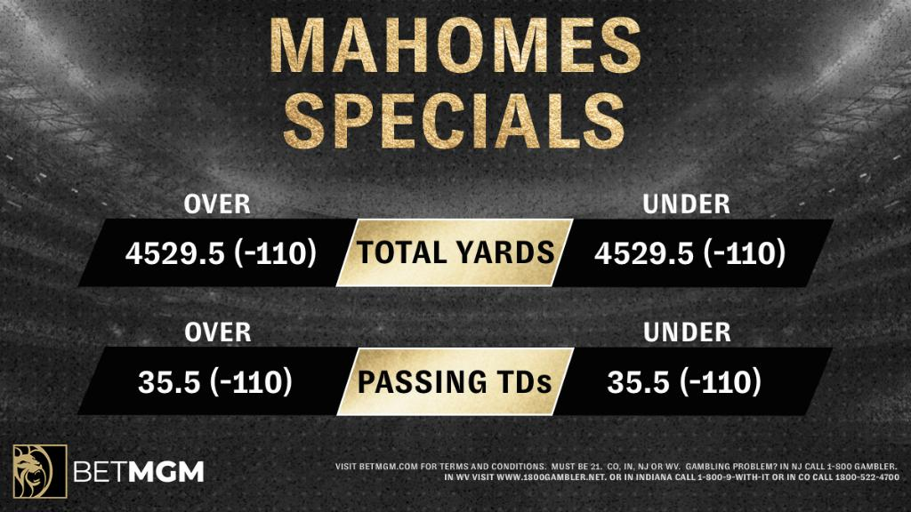 If @PatrickMahomes gave you $1000, which special would you wager it on? https://t.co/vrz5IfLBUc