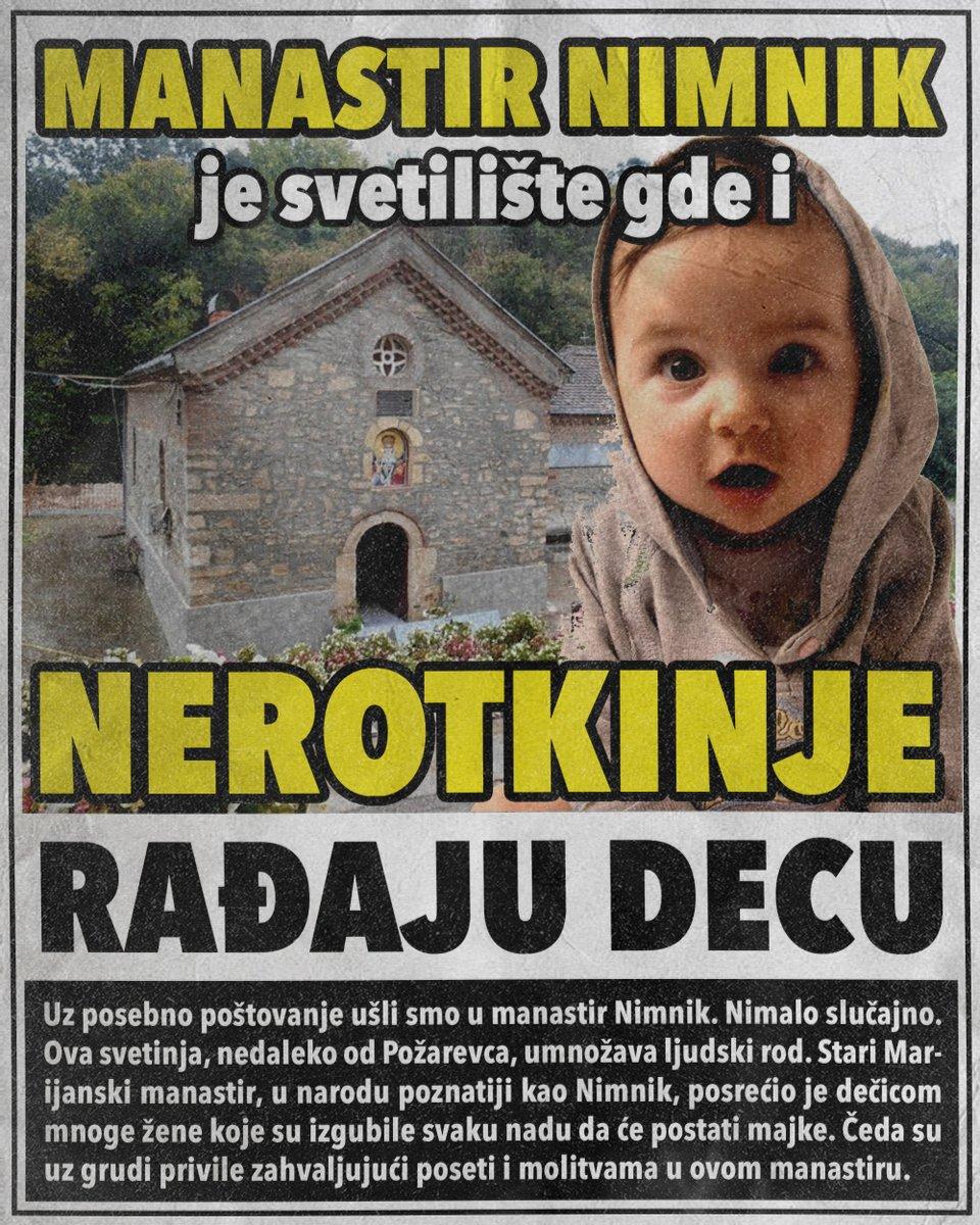Manastir Nimnik je svetilište gde i nerotkinje rađaju decu