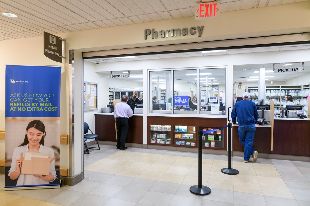Need an all-night #pharmacy? UK Chandler Retail Pharmacy is now the only 24-7 pharmacy inside New Circle in Lexington. Open to everyone. #lexky Learn more at our site: http://ukpharmacy.org pic.twitter.com/Id4IYs1XCJ