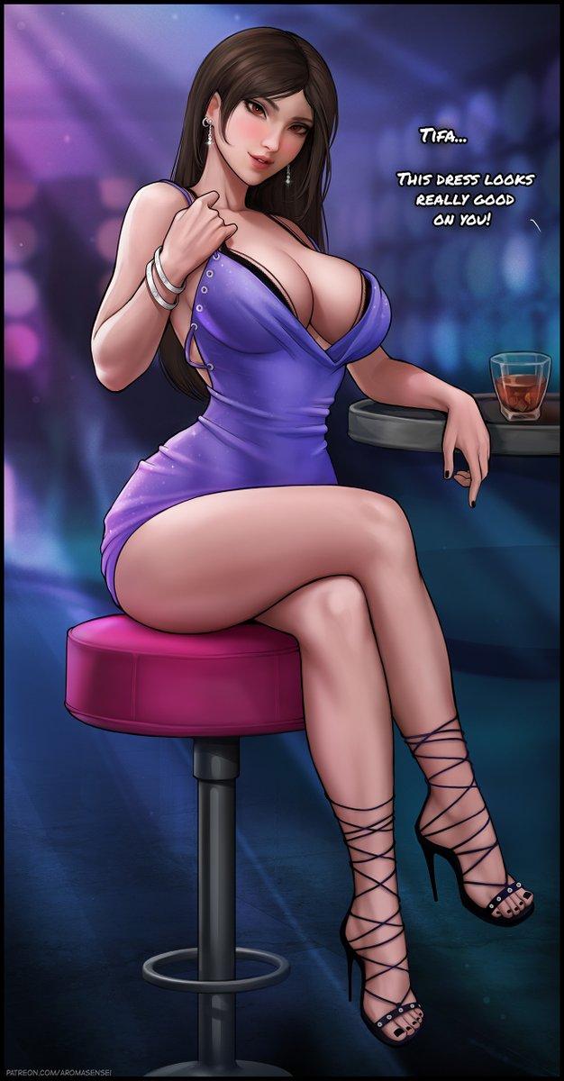 Tifa is clubbing! ( ・ิ ͜ʖ ・ิ) #TifaLockhart #Tifa