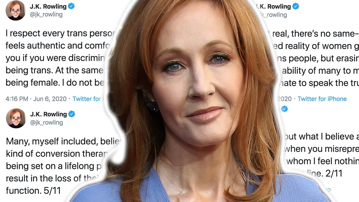 J.K. Rowling is speaking out once again about the transgender community