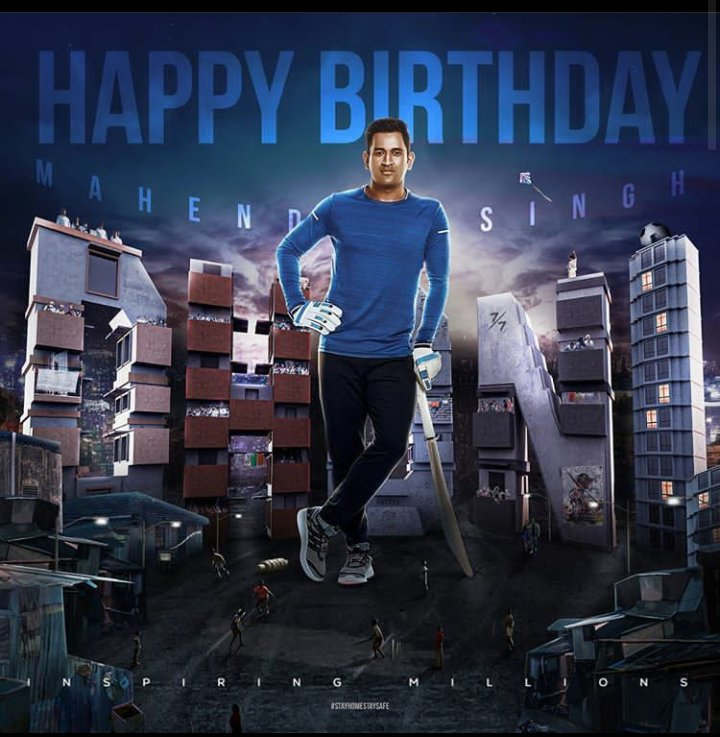 Here's to our Lion King, enga #Thala @msdhoni, the only one, the super one! #HappyBirthdayDhoni https://t.co/FGvzi3xh8m