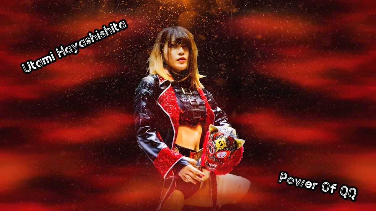 Power Of QQ - #UtamiHayashishita from #Stardom ! She will be a Stardom and Joshi Legend. #Joshi #Wrestling #林下詩美 #QueensQuest https://t.co/7yB3FKuj7e