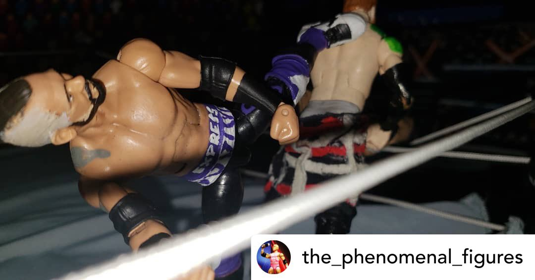 My action figure...IN ACTION!   Credit to the very talented @the_phenomenal_figures   #downtownpeteybrown #peteybrown #princeofparty #peteyparty #prowrestling #indywrestling #wrestling #prowrestlingactionfigures #actionfigures #minnesota #wwe #wweraw https://t.co/NOzSBjIgQ0