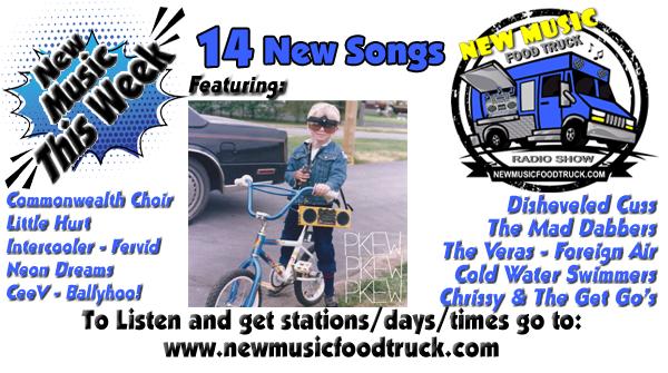 Hot as July Fresh New Music!#NMFT rolls 4x tomorrow ft.@PKEWX3 w/music by @jointhechoir @LittleHurt @intercooler @neondreams @ceevmusic @chrissygetgos @ballyhoorocks @bbqdbrains @theverasmusic @ForeignAir @ColdH20Swimmers @fervidtheband @maddabbers #SNRTG #Mondayvibes WeRTs pic.twitter.com/nypmJxXHqj