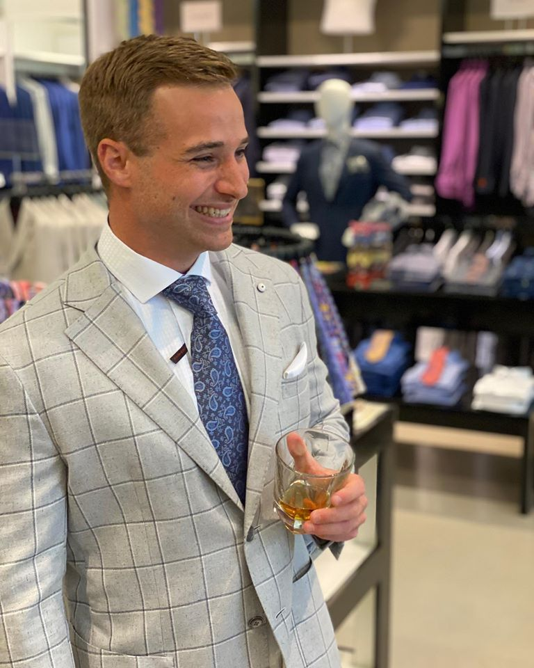 Thank you so much Nathan Helms for giving us the opportunity to have you looking your best for your wedding! Wishing you both a lifetime of health and happiness @partridgecreek @glcoutlets #wedding #weddingparty #simple #sophistication #summer #collection https://t.co/1BKmneSx30