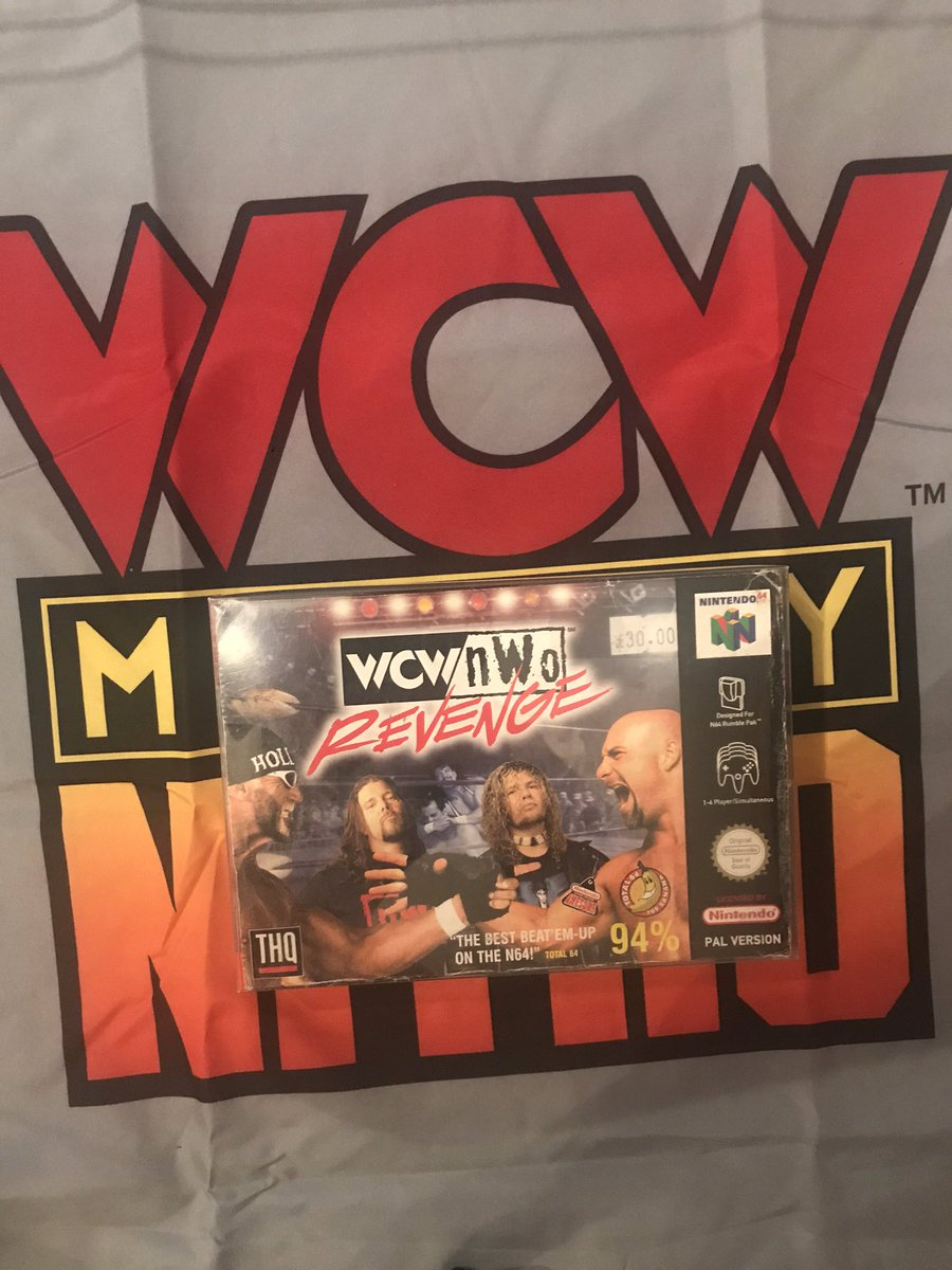 The best #wrestling #videogame of all time. #wcw #nwo Revenge. #wwe #aew #roh #ImpactWrestling #computergames https://t.co/YhubWNCHnr