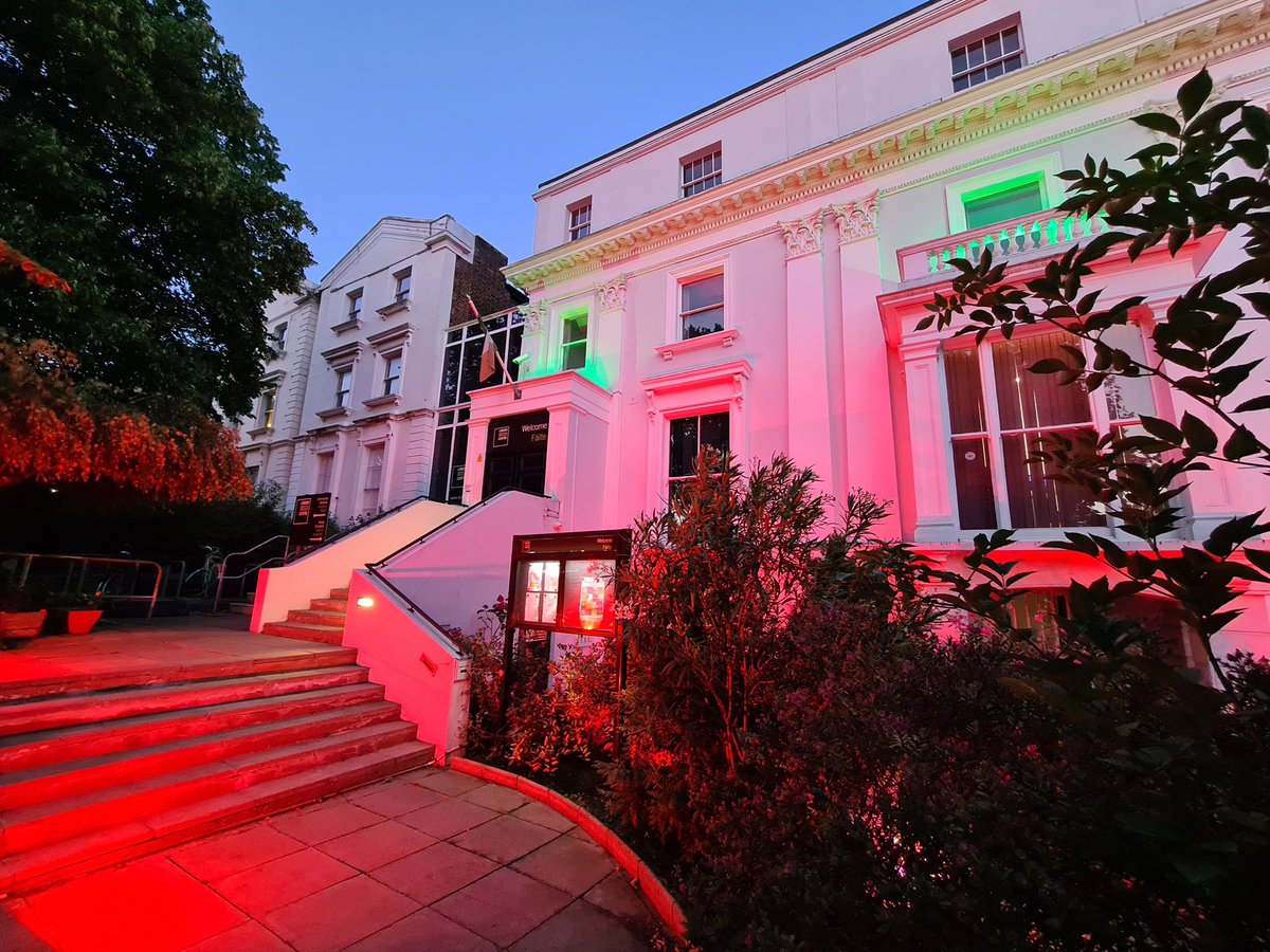Tonight we #LightItInRed in support of the events industry across the country.