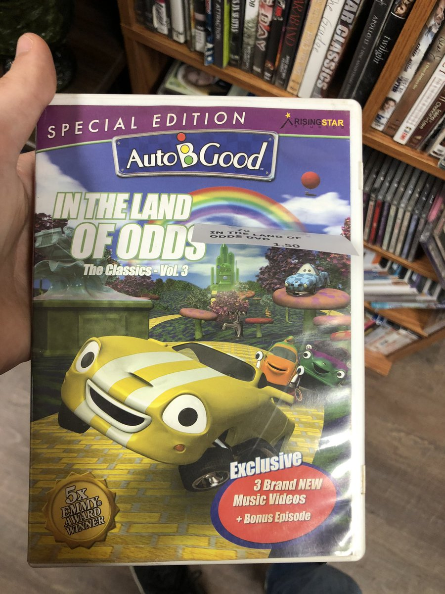 Went to check out a flea market store and this is what I stumbled upon. Auto B Good on DVD.  I remember watching this in elementary school every Friday's and now it's here. Who else remembers this series?  #childhoodmemories #Throwback https://t.co/G9YCrjuCkn