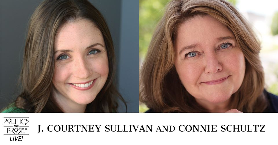 Wednesday, @jcourtsull and @connieschultz discuss FRIENDS AND STRANGERS and DAUGHTERS OF ERIETOWN on P&P Live! bit.ly/31Pk3c0