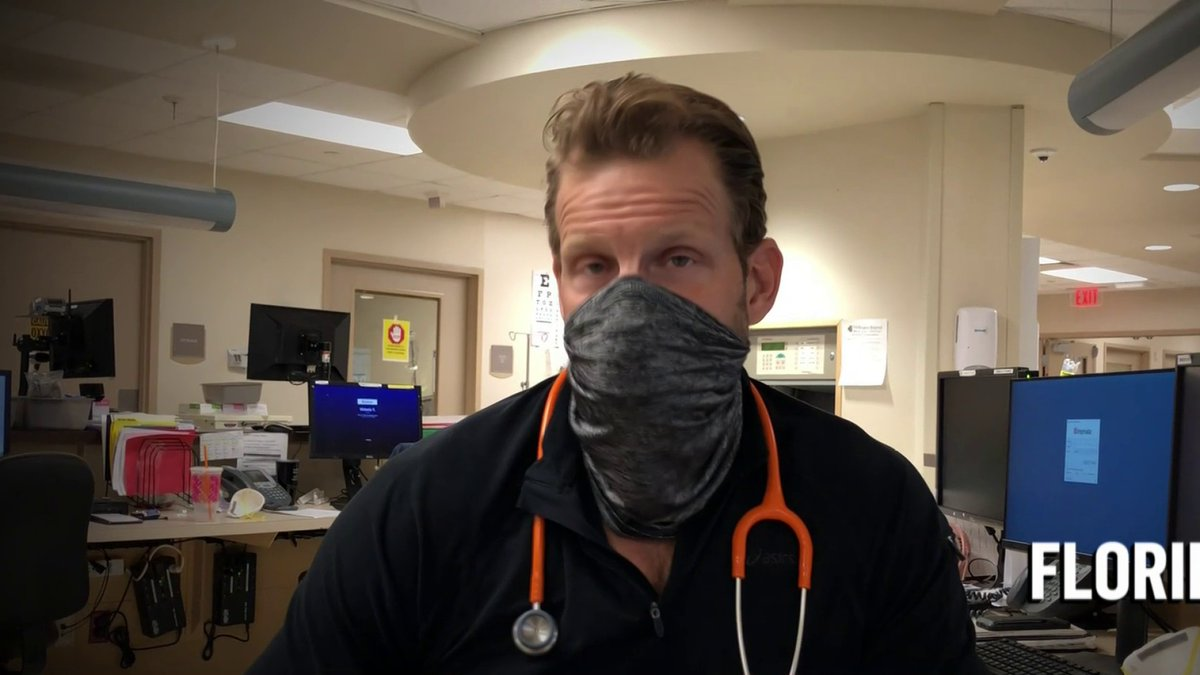 Image for the Tweet beginning: WATCH: Medical workers share experiences