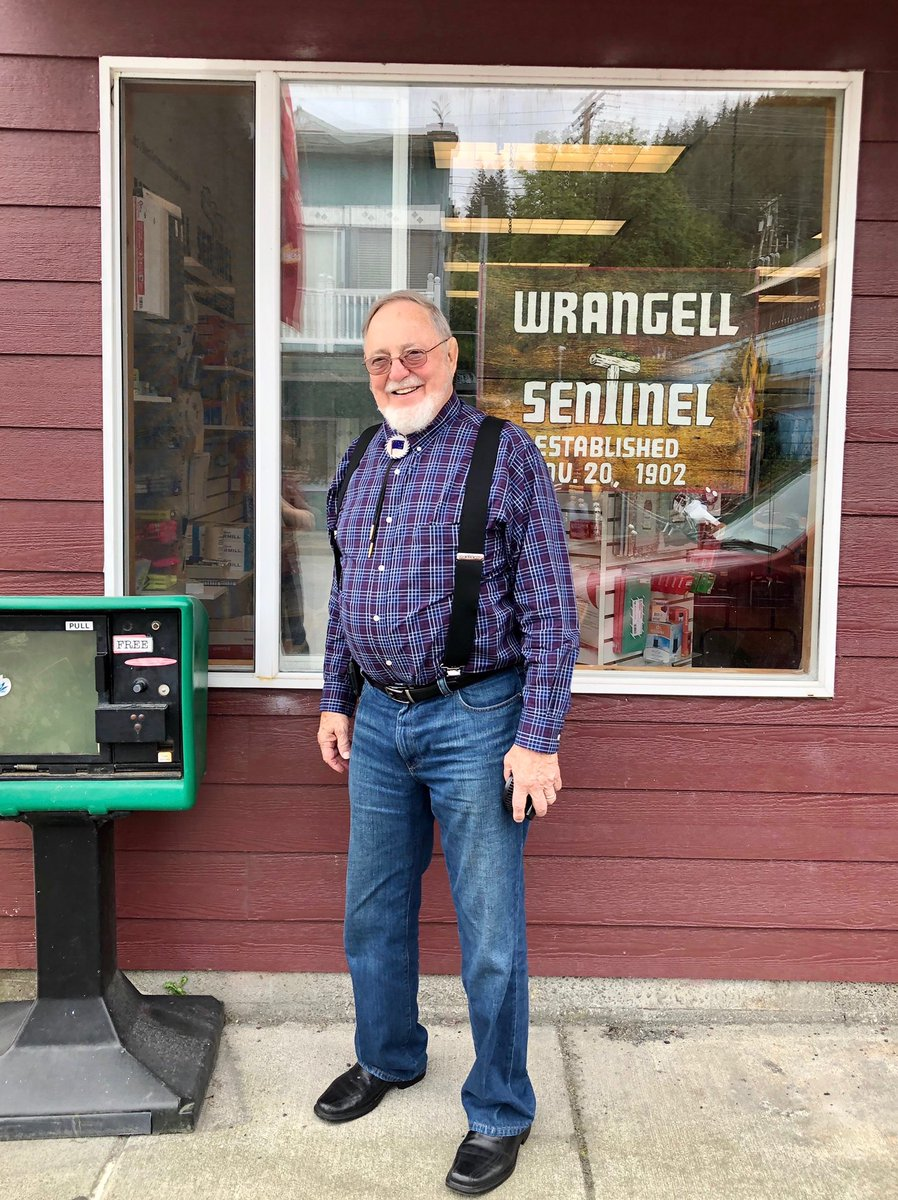 It's always great being back in Southeast! Just wrapped up an interview with @CalebVierkant of the Wrangell Sentinel. We covered a range of issues such as transportation funding, tourism, and COVID-19 relief. Thanks for a great discussion Caleb! @WrgSentinel https://t.co/OW5FLNHwQS
