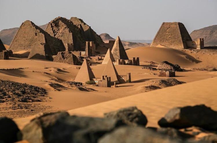 Sudan has the most pyramids in the world (255). Egypt has 138 pyramids.