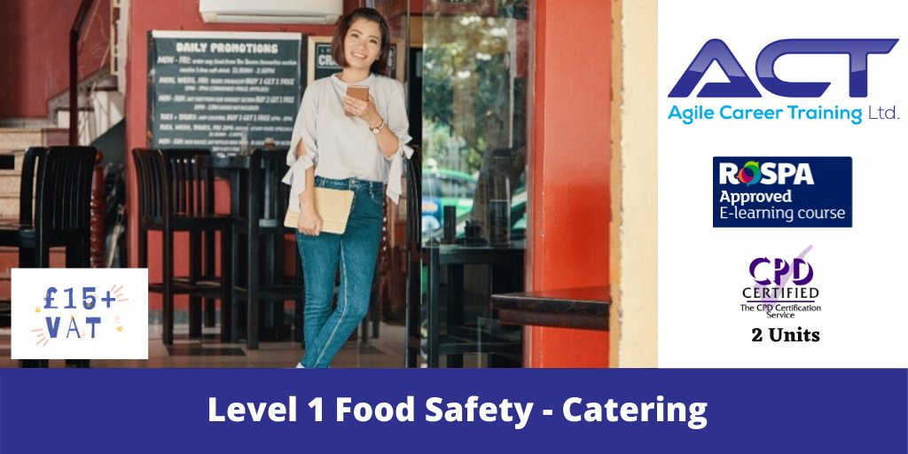 Convenient online staff compliance training. Cost effective and fits around your schedule #food #fsa #hospitality #restaurants #pubs #hospitalityuk #MondayMotivation