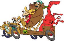 Who was your favourite in the Wacky Races?