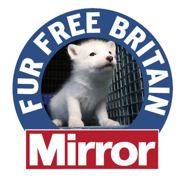 @DailyMirror @HSIUKorg Great news thank you @DailyMirror @BritishFur is peddling the idea that there is such a thing as sustainable natural fur it is rubbish..the cruelty is intense however they package it! #FurFreeBritain