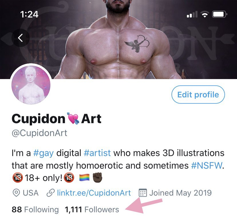 I made it over 1000! I honestly don't put that much stock into popularity so I haven't been paying attention and I know others have 10x that amount but I'm so grateful! Thanks to everyone who follows me! 🥰