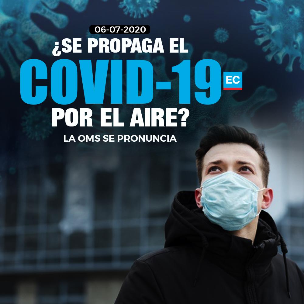 #ATENCIÓN | Científicos sostienen que el #covid19 podría propagarse por el aire ¿Qué dice la OMS? » https://t.co/1xmvNshgXr https://t.co/IMwt5pxvl9