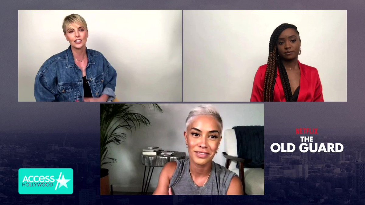 Coming up NEXT on #TMZ,  #Presidential hopeful #KanyeWest files to protect 'West Day Ever'. Then at 12:30 on #AccessHollywood, #CharlizeTheron on her special bond with #rising star #KikiLayne! PLUS, #Beyonce's proteges Chloe + Halle are dominating the charts and the #redcarpet! https://t.co/JKLObrBFXS